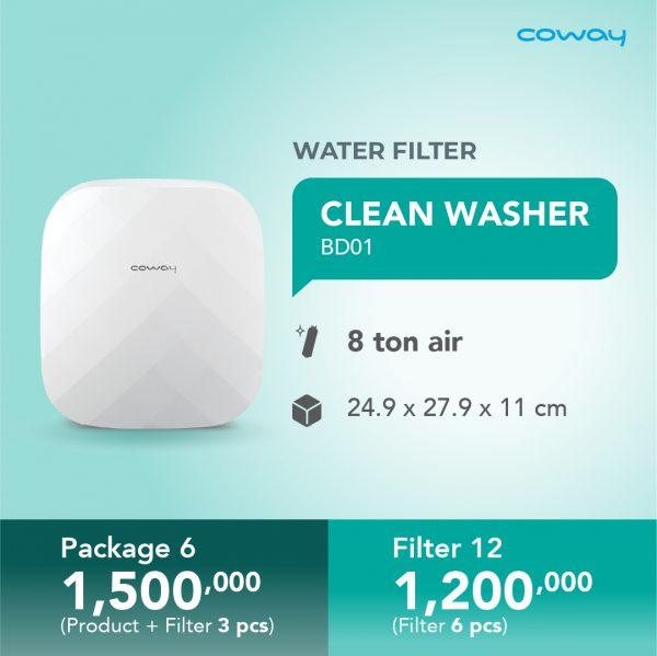 clean washer bd01