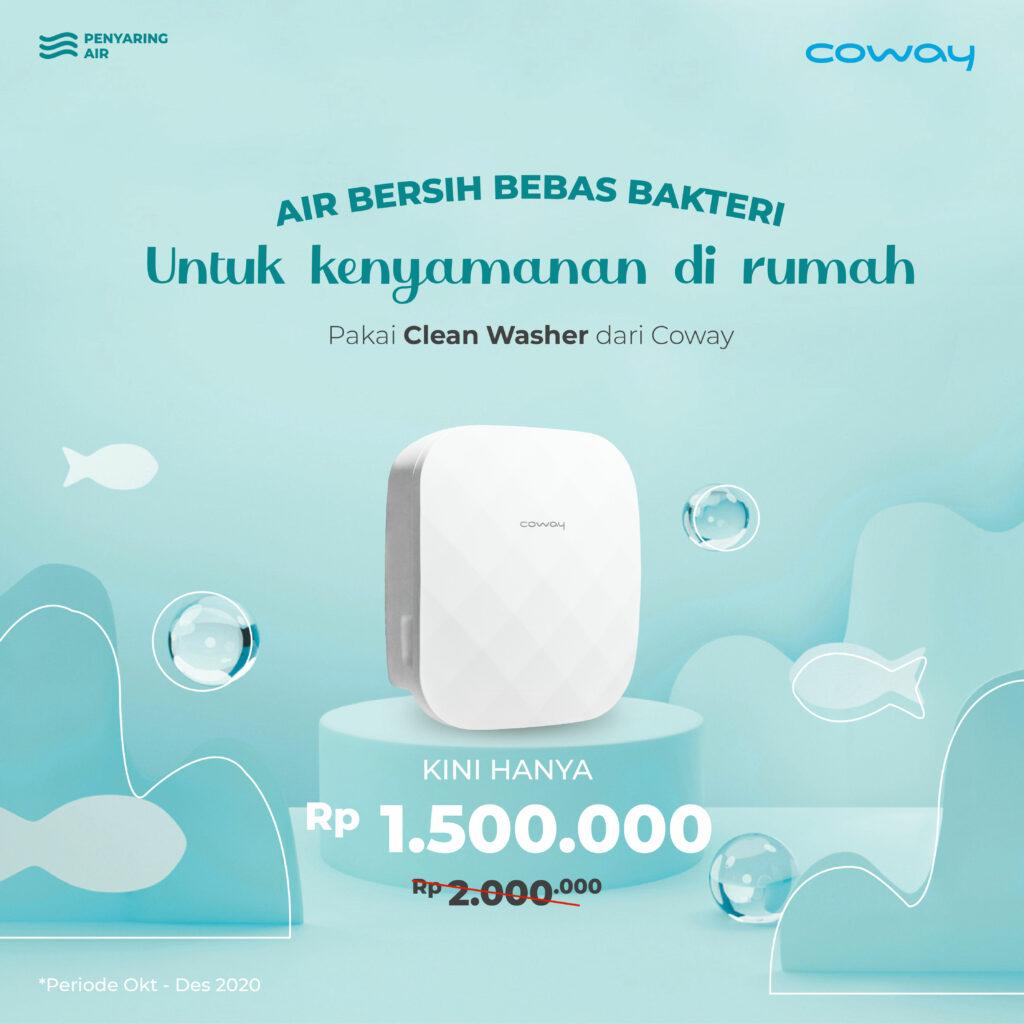 harga clean washer coway