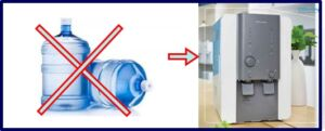 penggunaan air galon